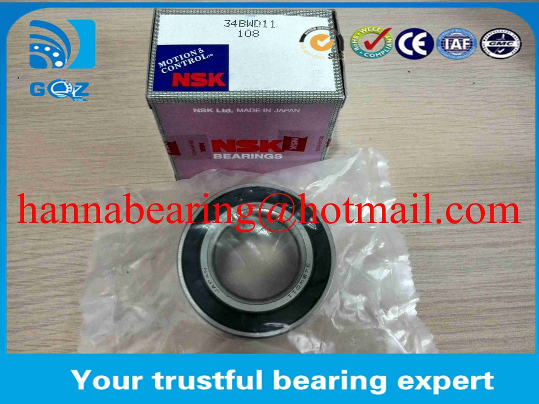 40BWD12 Automotive Wheel Bearing Angular Contact Ball 40x74x42 mm