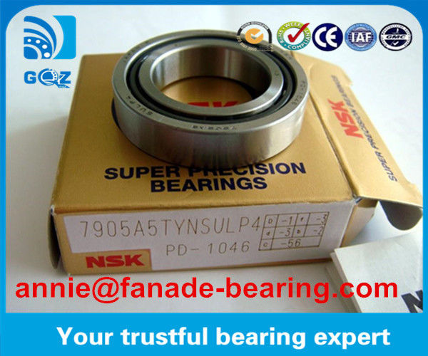 Single Row Open Seal Angular Contact Ball Bearing 7907CTYNSULP4 7907A5TYNSULP4