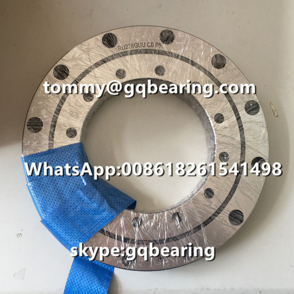 P5 Precision RU228G RU228GUUCC0P5 Precison Crossed Roller Bearing For Robot Industry