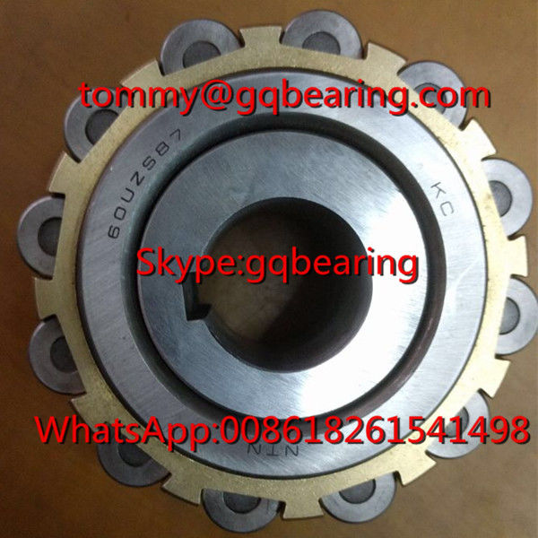 Brass Cage Eccentric Cylindrical Roller Bearing for Reducer NTN 60UZS87