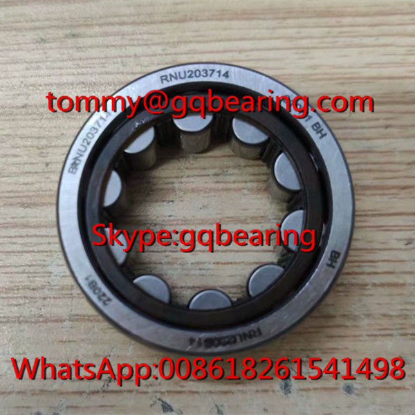 RNU203714 Cylindrical Roller Bearing without Inner Ring 20x37x14mm