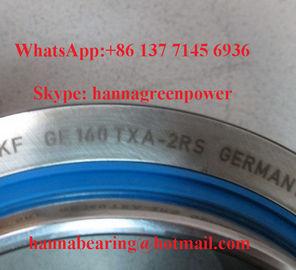 A manutenção lisa esférica do rolamento da tela do aço de GE 140 TXA-2LS/PTFE livra 140x210x90mm